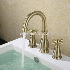 High Quality Bathroom Faucets by Online Get Cheap Bathroom Faucet Widespread 3 Piece Aliexpress