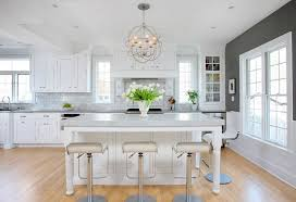 solid wood kitchen islands white and gray kitchen cabinets black floral pattern marble