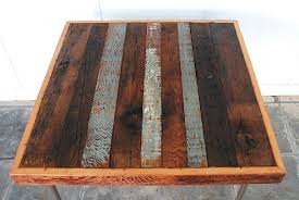 buy reclaimed wood table top card table makeover the merrythought