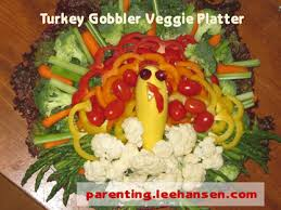 recipes thanksgiving veggie tray turkey arrangement