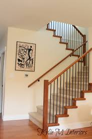benjamin moore cable knit up stairs and stairwell with carpet