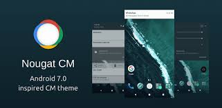 android theme nougat cm android 7 0 inspired cm theme android development