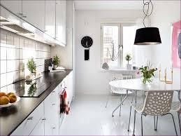 kitchen room floor tiles faux marble backsplash