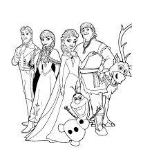 Dessin de coloriage Reine des neiges à imprimer  CP22683