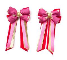 hair bows uk set hair bows pink gold pink bows hair accessories