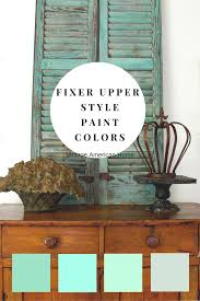 Wood Furniture Paint Colors Fixer Upper Farmhouse U201clook U201d Paint Colors U2013 Decorate Like The Pros