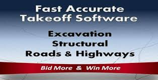 Excavation Estimating by Roctek Construction Estimating Takeoff Software On Screen