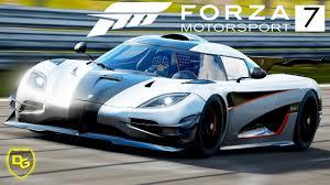 koenigsegg one 1 crash koenigsegg one 1 auf der nordschleife u2013 forza motorsport 7 2