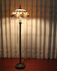 Retro Floor Lamps Floor Lamps Vintage Floor Lamp Glass Shades Vintage Style Floor
