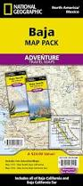 Map Of Baja Mexico by Baja Map Pack Bundle National Geographic Adventure Map