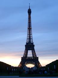 French Flag Eiffel Tower Free Stock Photo Of Silhouette Of Eiffel Tower At Dusk Or Dawn