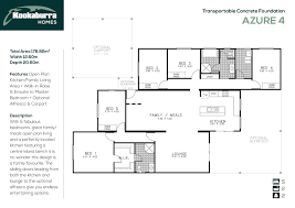Azure Floor Plan Transportable Homes Adelaide U0026 Hills Murray Bridge Mount
