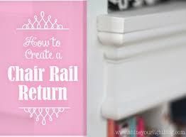 cutting chair rail images