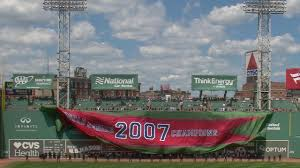 Fenway Park Seating Map Red Sox Honor 2007 World Series Title Team Mlb Com