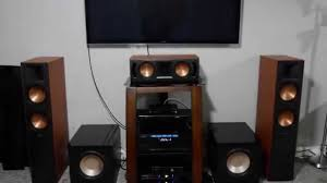 image home theater the evolution of my home theater system youtube