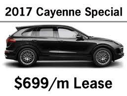 lease deals on porsche cayenne porsche of the motor city promotions specials