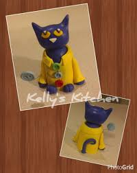 cat cake topper pete the cat cake topper cakecentral