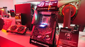 an rog booth tour experience at computex 2017 rog republic of