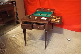 jeux de au bureau table de jeux tric trac formant bureau plat