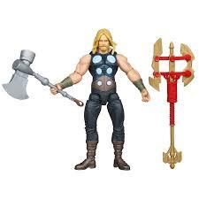 marvel avengers comic series battle hammer thor 4 action figure
