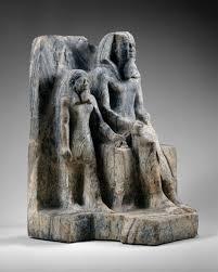 God Statue King Sahure And A Nome God Work Of Art Heilbrunn Timeline Of