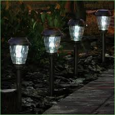 Outside Landscape Lighting - lighting outdoor garden solar power powered light gutter fence
