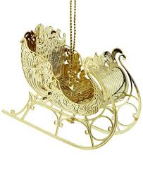 chemart 3d sleigh ornament ornaments for