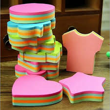 post it sur bureau 100 pages multicolore sticky notes mignon bureau amour blocs notes