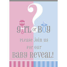baby shower gender reveal 8x unique baby shower gender reveal party invitations w envelopes