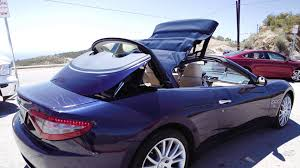 maserati granturismo convertible blue apex episode 1 2015 maserati granturismo convertible review youtube