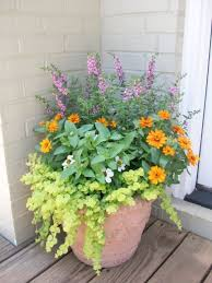Summer Container Garden Ideas Front Porch Container Gardening Ideas Home Design And Decorating