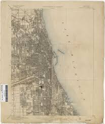 City Of Chicago Map by