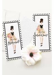 will you be my bridesmaid card will you be my bridesmaid card set of 4 david s bridal