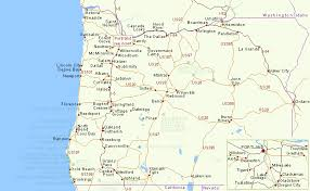 oregon map with cities map of towns in oregon oregon map