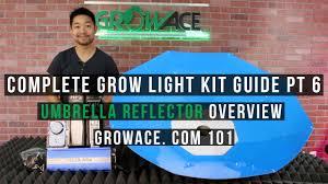 complete umbrella light kit guide for indoor gardening youtube