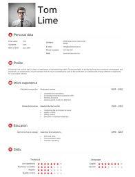 impressive resume resume example