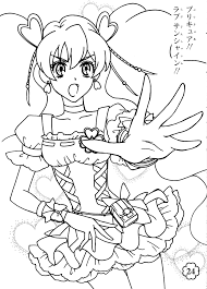 pin by marjolaine grange on coloriage fresh pretty cure