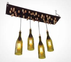 Diy Glass Bottle Chandelier 14 Creative Chandeliers To Buy Or Diy Brit Co