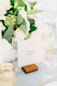 modern table numbers modern luxe summer wedding inspiration ruffled