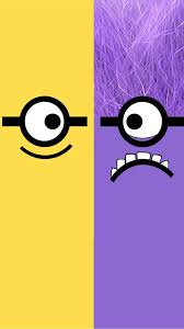 despicable me yellow and purple minion iphone 6 plus wallpaper hd