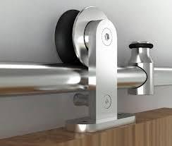 cabinet barn door hardware diyhd 183cm 195cm stainless steel top mount sliding barn door