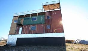 Storage Container Homes Canada - sea can house is made completely from shipping containers
