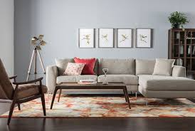 Sofa Living Spaces by Stella 2 Piece Condo Sectional W Raf Chaise Living Spaces