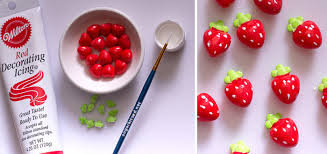 how to make easy fruit decorations