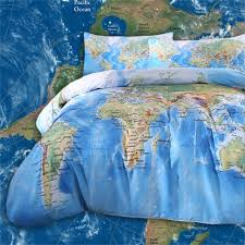 Map Bedding Amazon Com Sleepwish World Map Bedding Duvet Cover Set For Kids