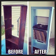 Record Player Cabinet Plans by Diy Record Player Stand I Think I May Steal This Idea But Use