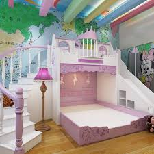 Castle Bunk Bed With Slide Luxury Designs