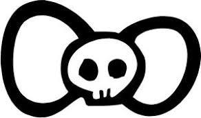 hello bow hello bow tie skull