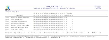 plantilla de nomina para rellenar control de incidencias del personal pre nómina ibix com