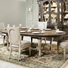 american drew jessica mcclintock boutique oval dining table w